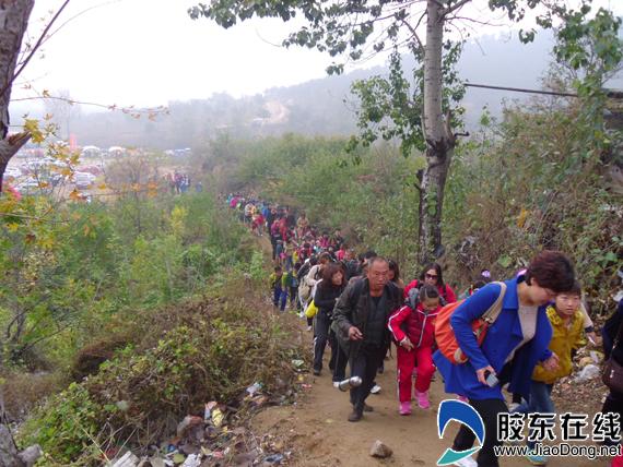 旅游爬山人物照片欣赏