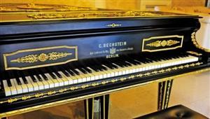 144年前英皇室御用钢琴现身躲过2次世界大战