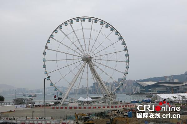 香港中環摩天輪正式營運 票價100港币(圖)