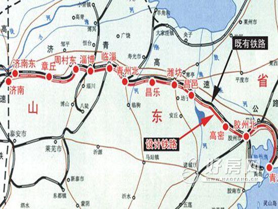 济青高铁环境影响报告书正式出炉,这意味着济青高铁将从规划研究逐步