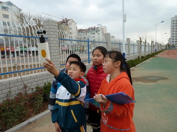 开发区第八校园成立小学气象站_胶东在线v校园育英沙坪坝小学重庆图片
