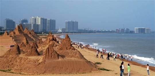 海阳旅游度假区沙雕公园