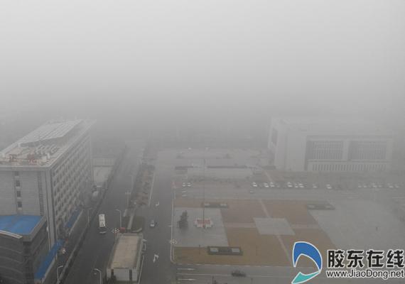 烟台迎春运首场大雾 高速公路目前正常通行