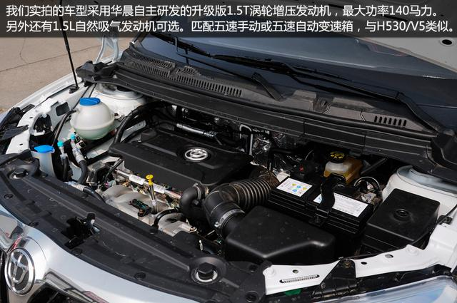 华晨中华V3实拍 时尚个性小SUV高清图片