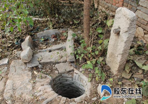 西海地下医院王门村洞口遗址近照