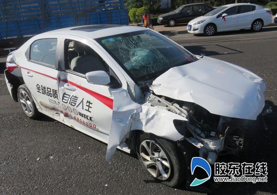 试驾车试驾过程中失控出事故