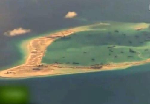 美机抵近侦察南海砗磲令中国黄金骤然紧张岛礁视频局势图片