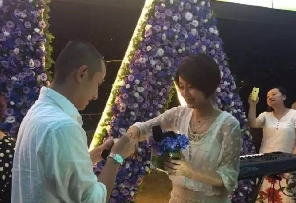 安宰贤具惠善求婚视频