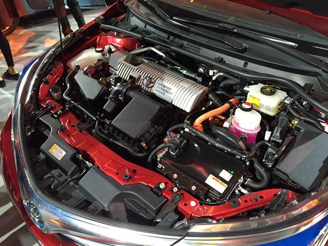 8l发动机和一台永磁同步电机组成的混动系统