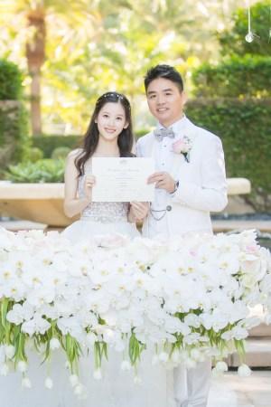 章泽天认可婚礼前有身 刘强东犷悍示爱 娱乐新