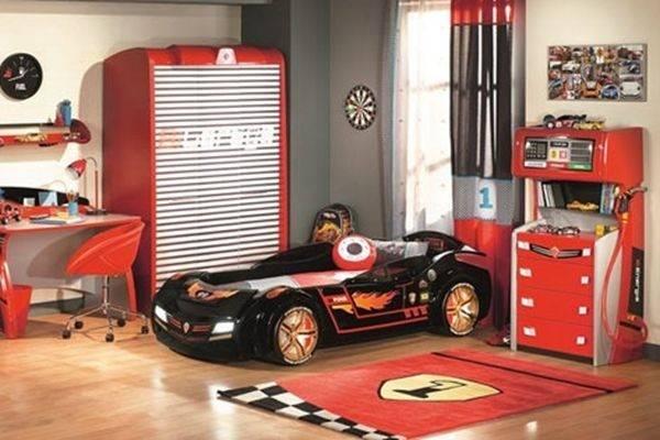 儿童房设计创意 十款汽车主题儿童房