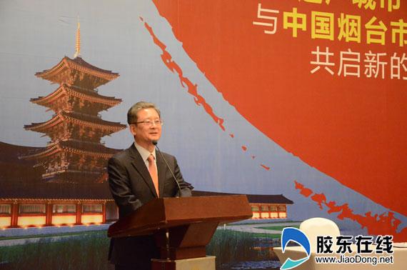 韩国驻青岛总领事馆总领事李寿尊讲话