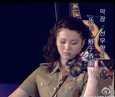 朝鲜牡丹峰唱中文歌