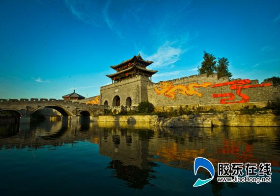"""华东最有年味的古城 """"台儿庄古城""""五福迎新年"""