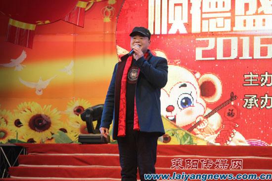 """今年莱阳电视台网络春晚,节目组邀请到的演员多是第一届""""梨乡达人秀"""""""