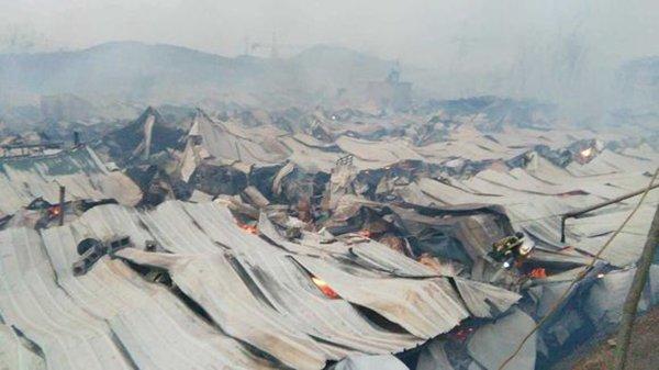 枣庄市薛城区巨山街道西巨山村发生火灾2人死亡