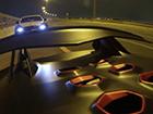 阿拉伯土豪兰博基尼高速路上撒欢