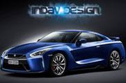 2017款日产GT-R假想图曝光