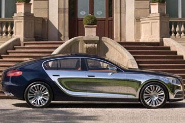 布加迪计划推出四门轿车 最顶级设定