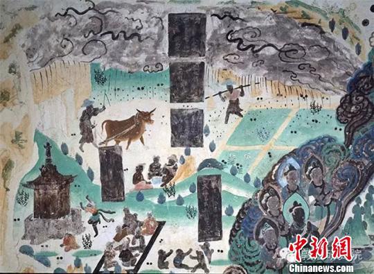 敦煌壁画中的古代劳动者:三教九流各显神通