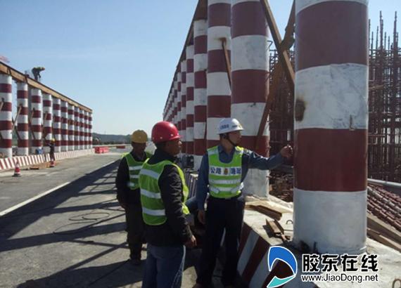 烟台高速公路路政支队加强涉路施工监管