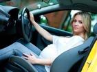 孕妇驾车安全坐姿