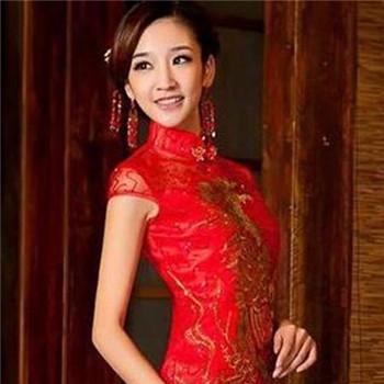 中式旗袍新娘发型 适合中式婚礼的发型