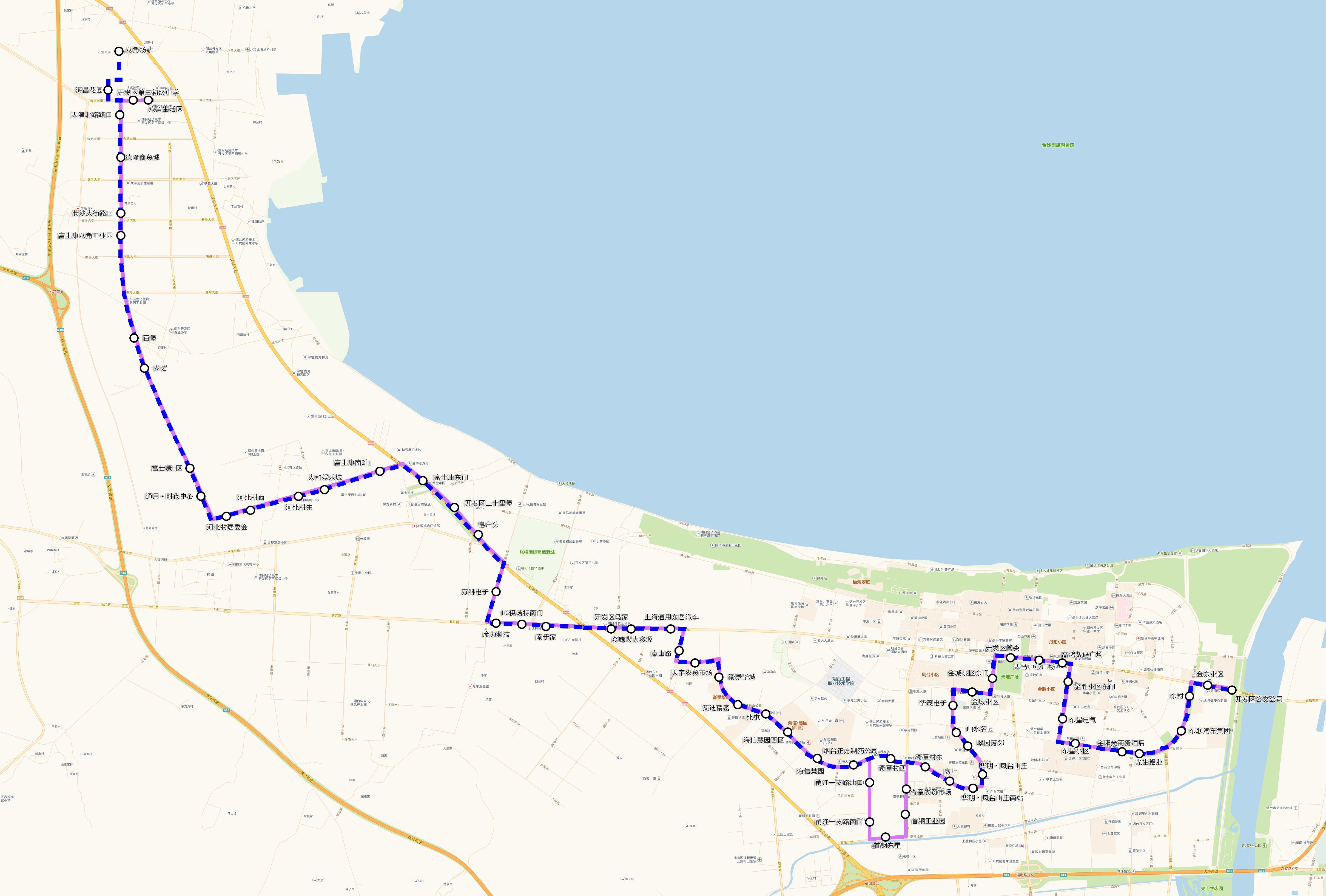 一,线路调整      该线路将从夹河场站发车,沿原路线运行至秦淮河路与