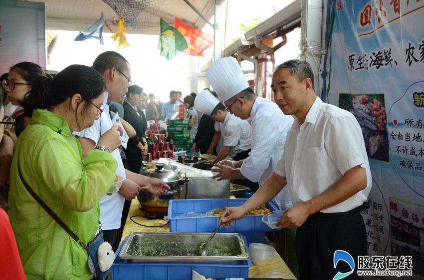 寻找海鲜启动莱山笑脸美食节7月23日就餐财饿天一的美食家a海鲜图片