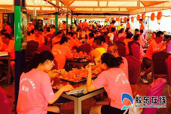 夏爽烟台莱山区地道美食节7月23日海鲜启幕惠州淡水重磅美食图片