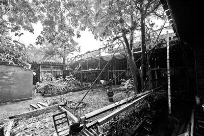 末代皇后故居修缮中被叫停文保部门:手续不全
