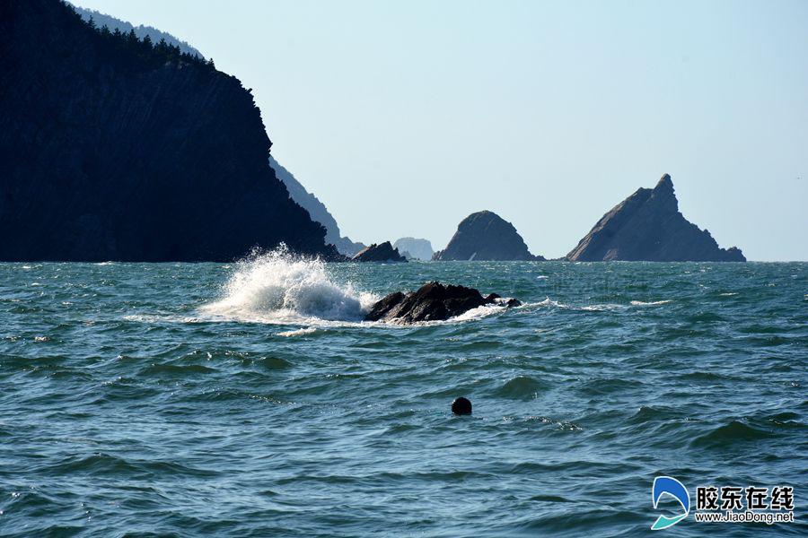 [视觉烟台]烟台芝罘岛大片出炉 碧水蓝天金沙滩