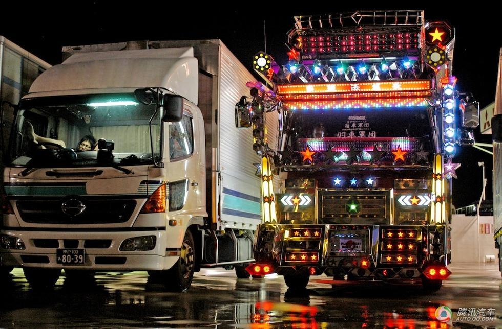 日本最帅的卡车 爆改后像变形金刚