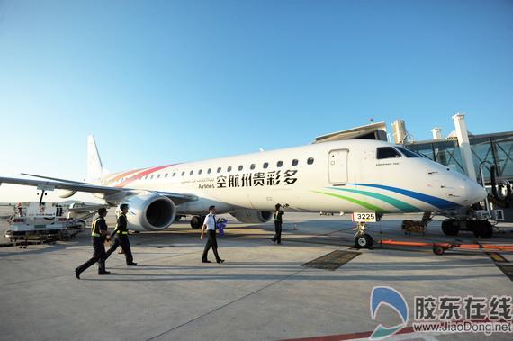 郑州-海口航线,由山东航空执飞