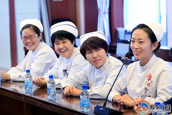 感动香菇!180秒救人烟台女护士誉美全国