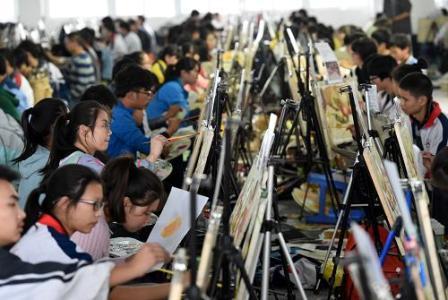 2017山东美术省统考12月18日进行 满分300分