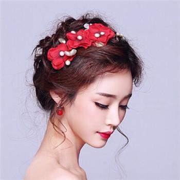 2017年最美的韩式新娘发型 选款唯美发型