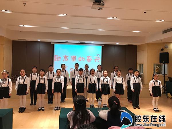 歌声里的春天儿童歌曲演唱会举行(图)