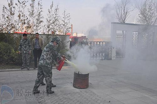 ##:牟平消防宣扬磨炼实习进社区 战争提示入民意(图)
