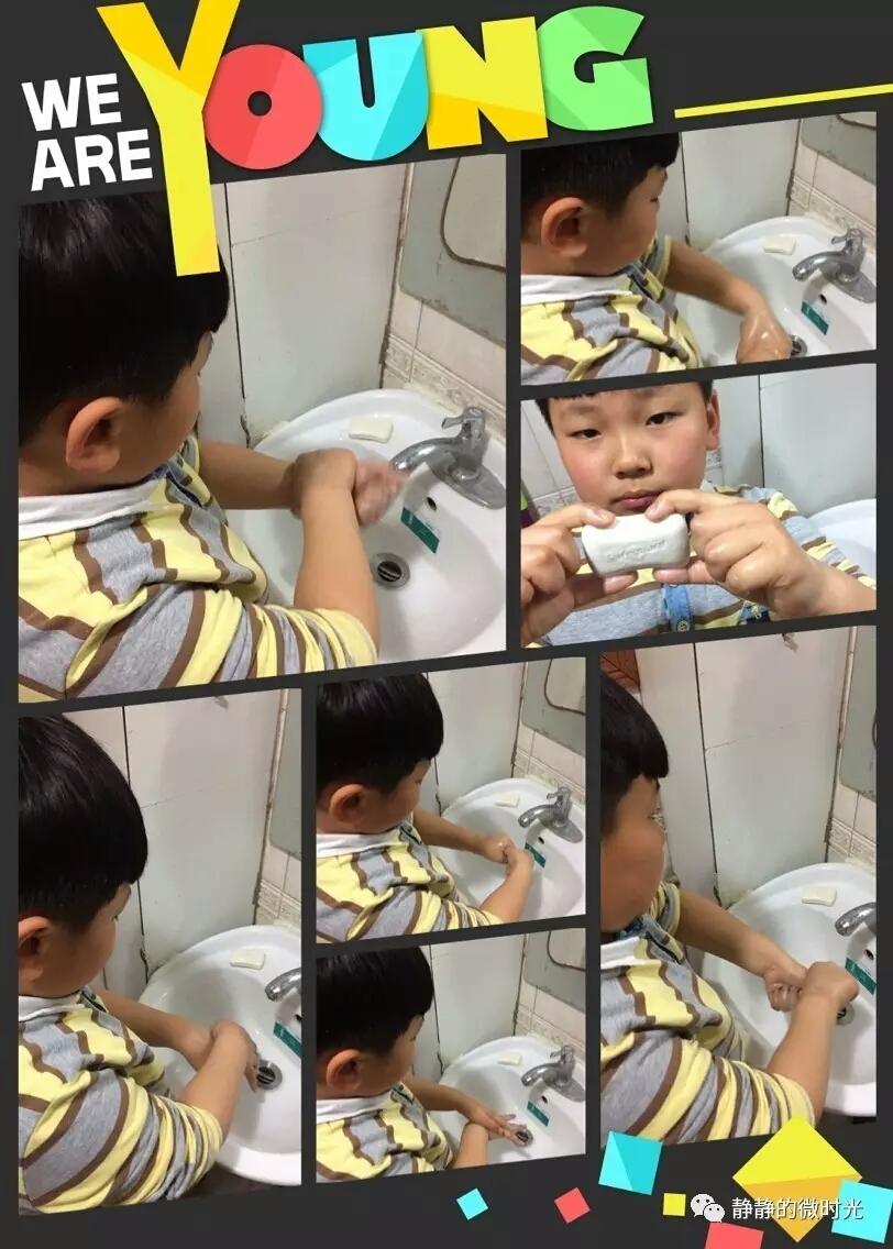 祥发小学饮食安全第一步 洗干净小小手