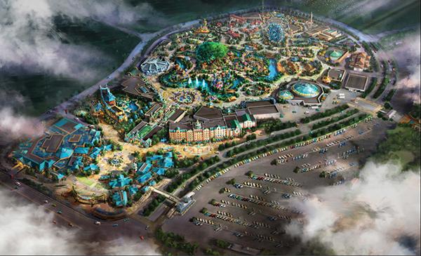 郑州海昌海洋公园奠基 打造中原标志性海洋主题公园
