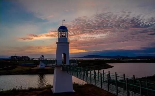 如果在秋天你来到海阳连理岛 静静享受这份休闲