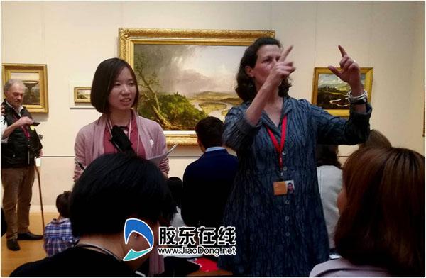 大都会艺术博物馆的现场体验式导览