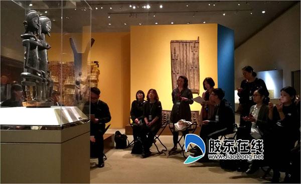 """大都会艺术博物馆基于对""""物件""""为引导的体验式导览现场"""