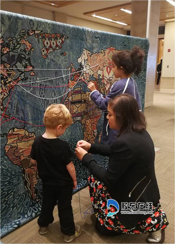 大都会艺术博物馆体验式教育活动现场
