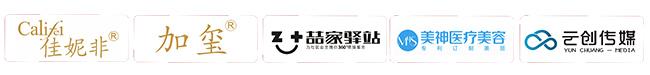 新歌声合作商集成logo