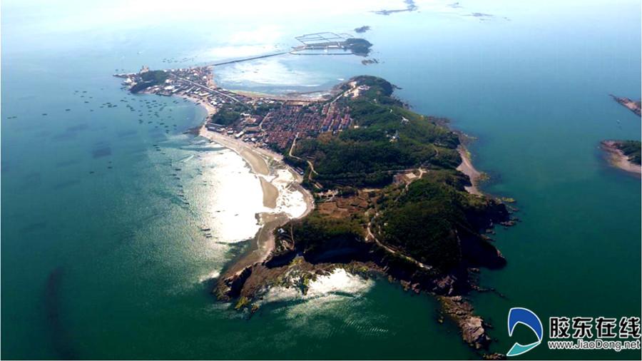 崆峒岛全景