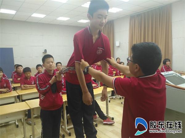 郭家埠学校开展心理健康教育活动1