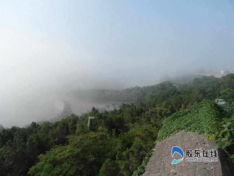 (八)蓬莱阁景区内仙雾氤氲