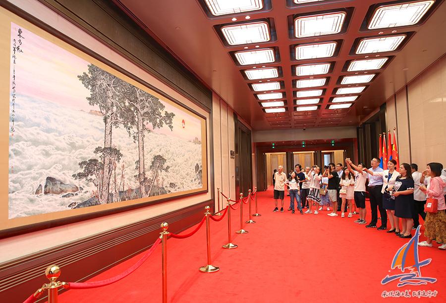 【风从海上来·改革进行时】青岛国际会议中心:万吨钢结构打造环保办会建筑典范